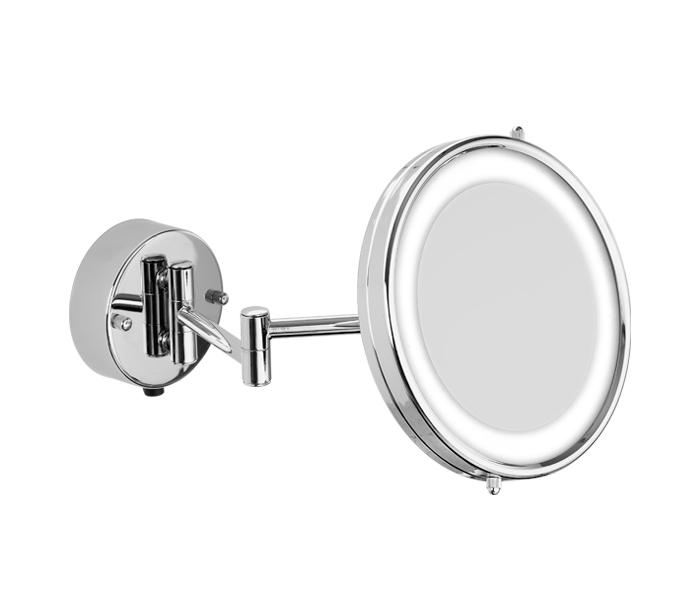 Espejo de semi-empotrar con aumento y luz. SOLETTA® : STANZA