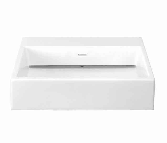 Lavabo rectangular de sobreponer (apoyo) KADER® : STANZA