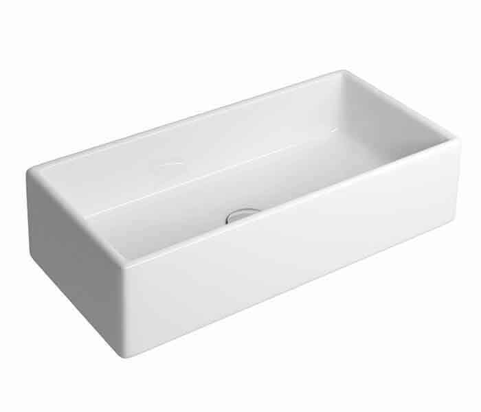Lavabo rectangular de sobreponer. KADER® : STANZA