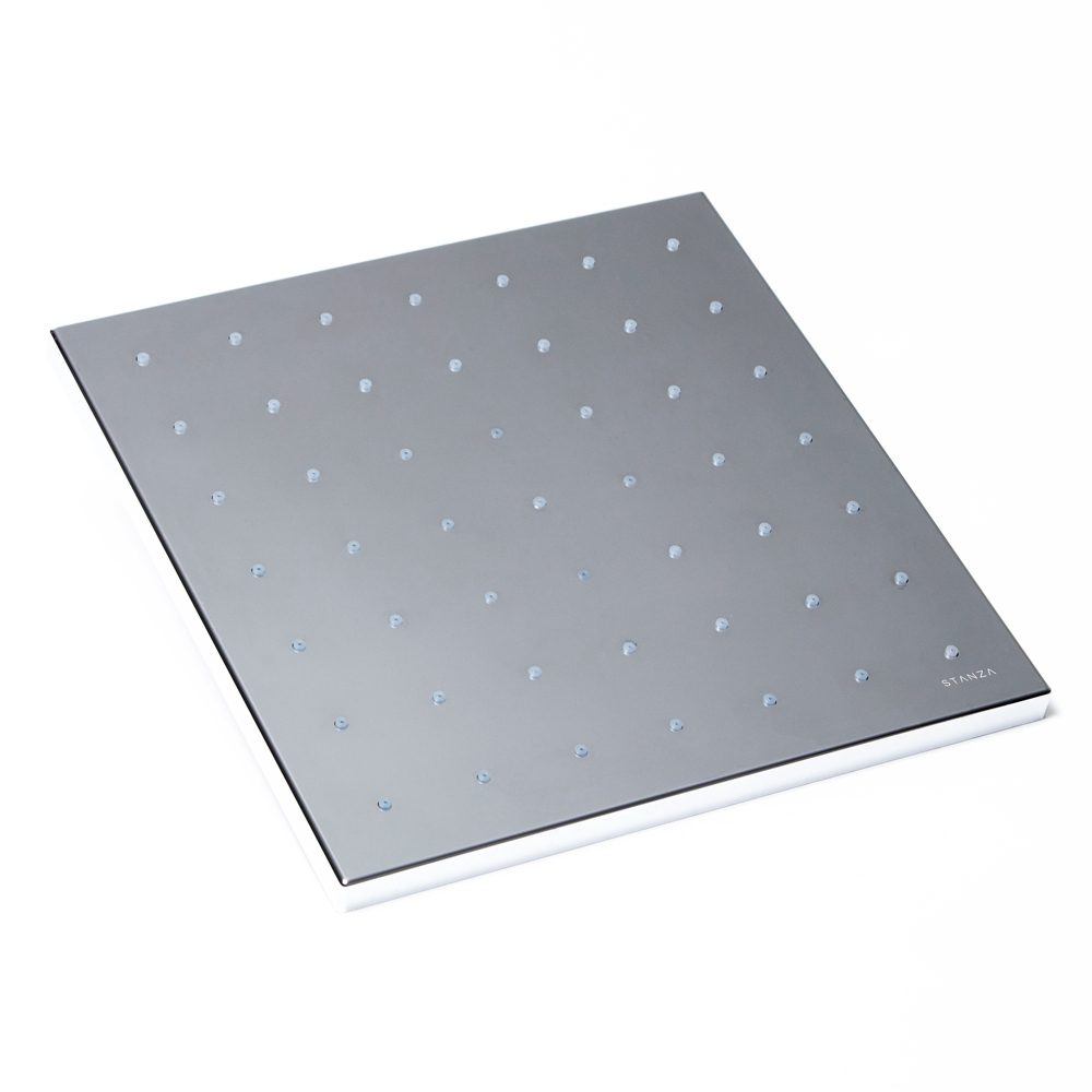 Regadera de rectangular 33 x 31 centímetros : STANZA