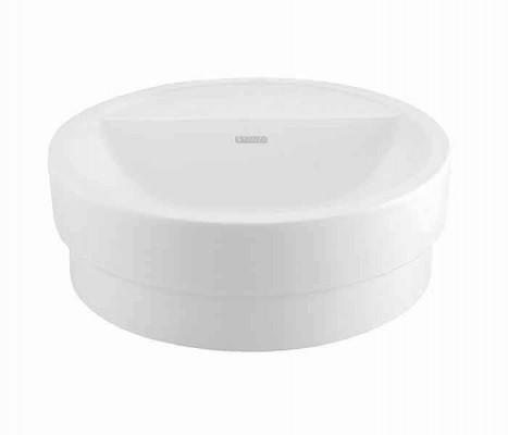 Lavabo cilíndrico de sobreponer (apoyo) RONDO®®(opción a perforar) : STANZA
