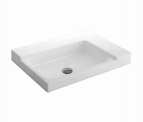 Lavabo rectangular de semi-encaje. KADER®® : STANZA