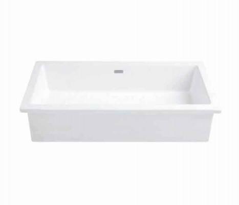 Lavabo rectangular largo de bajo cubierta. SOLETTA® II : STANZA